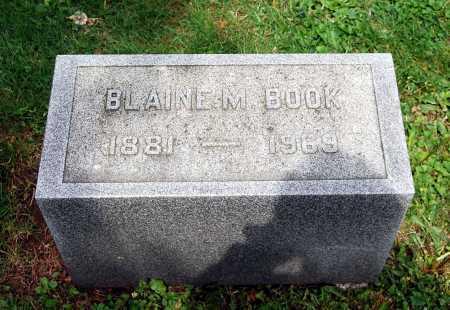 BOOK, BLAINE MILLIKEN - Juniata County, Pennsylvania | BLAINE MILLIKEN BOOK - Pennsylvania Gravestone Photos