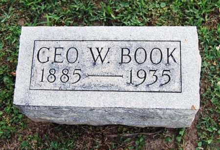 BOOK, GEORGE WASHINGTON - Juniata County, Pennsylvania | GEORGE WASHINGTON BOOK - Pennsylvania Gravestone Photos