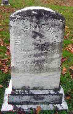 BOOK, ISAAC - Juniata County, Pennsylvania | ISAAC BOOK - Pennsylvania Gravestone Photos