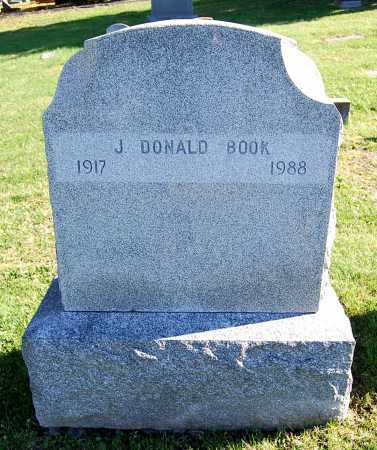 BOOK, J. DONALD - Juniata County, Pennsylvania | J. DONALD BOOK - Pennsylvania Gravestone Photos