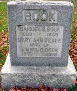 BOOK, SAMUEL S. - Juniata County, Pennsylvania | SAMUEL S. BOOK - Pennsylvania Gravestone Photos