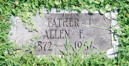 BOOKWALTER, ALLEN F. - Juniata County, Pennsylvania | ALLEN F. BOOKWALTER - Pennsylvania Gravestone Photos