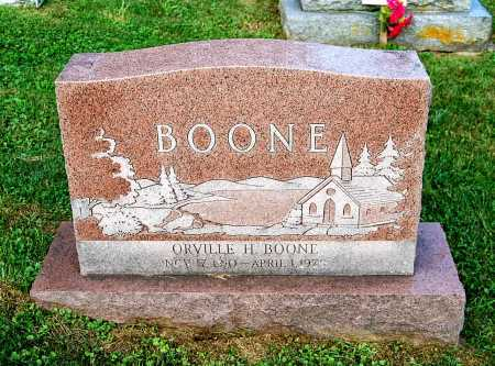 BOONE, ORVILLE H. - Juniata County, Pennsylvania | ORVILLE H. BOONE - Pennsylvania Gravestone Photos