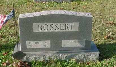 BOSSERT, RUTH R. - Juniata County, Pennsylvania | RUTH R. BOSSERT - Pennsylvania Gravestone Photos