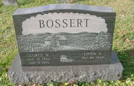 BOSSERT, GEORGE W. - Juniata County, Pennsylvania | GEORGE W. BOSSERT - Pennsylvania Gravestone Photos