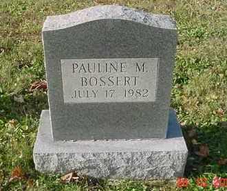 BOSSERT, MINNIE PAULINE - Juniata County, Pennsylvania | MINNIE PAULINE BOSSERT - Pennsylvania Gravestone Photos