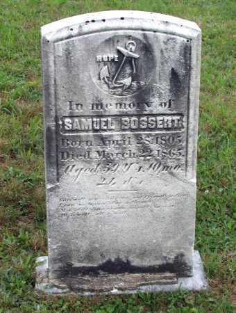 BOSSERT, SAMUEL - Juniata County, Pennsylvania   SAMUEL BOSSERT - Pennsylvania Gravestone Photos