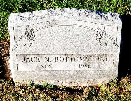 BOTTOMSTONE, JACK N. - Juniata County, Pennsylvania | JACK N. BOTTOMSTONE - Pennsylvania Gravestone Photos