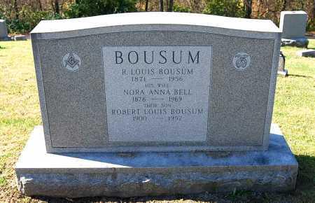 BELL BOUSUM, NORA ANNA - Juniata County, Pennsylvania | NORA ANNA BELL BOUSUM - Pennsylvania Gravestone Photos