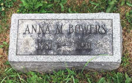 BOWERS, ANNA M. - Juniata County, Pennsylvania | ANNA M. BOWERS - Pennsylvania Gravestone Photos