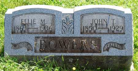BOWERS, JOHN T. - Juniata County, Pennsylvania | JOHN T. BOWERS - Pennsylvania Gravestone Photos