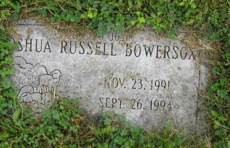 BOWERSOX, JOSHUA RUSSELL - Juniata County, Pennsylvania | JOSHUA RUSSELL BOWERSOX - Pennsylvania Gravestone Photos