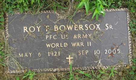BOWERSOX, ROY F. - Juniata County, Pennsylvania   ROY F. BOWERSOX - Pennsylvania Gravestone Photos