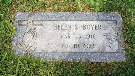 BOYER, HELEN - Juniata County, Pennsylvania | HELEN BOYER - Pennsylvania Gravestone Photos