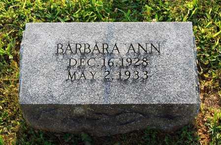 BRACKBILL, BARBARA ANN - Juniata County, Pennsylvania | BARBARA ANN BRACKBILL - Pennsylvania Gravestone Photos