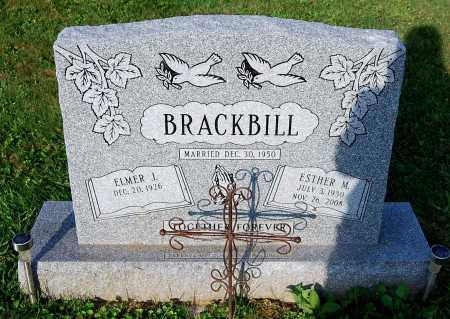 BRACKBILL, ESTHER M. - Juniata County, Pennsylvania | ESTHER M. BRACKBILL - Pennsylvania Gravestone Photos