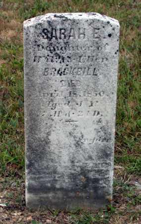 BRACKBILL, SARAH E. - Juniata County, Pennsylvania | SARAH E. BRACKBILL - Pennsylvania Gravestone Photos