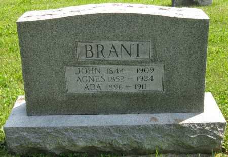 BRANT, ADA - Juniata County, Pennsylvania   ADA BRANT - Pennsylvania Gravestone Photos