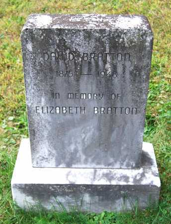 BRATTON, ELIZABETH - Juniata County, Pennsylvania | ELIZABETH BRATTON - Pennsylvania Gravestone Photos