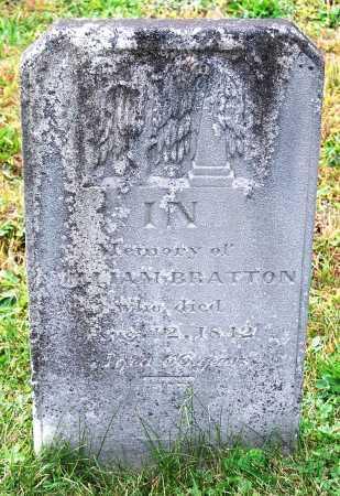 BRATTON, WILLIAM - Juniata County, Pennsylvania | WILLIAM BRATTON - Pennsylvania Gravestone Photos