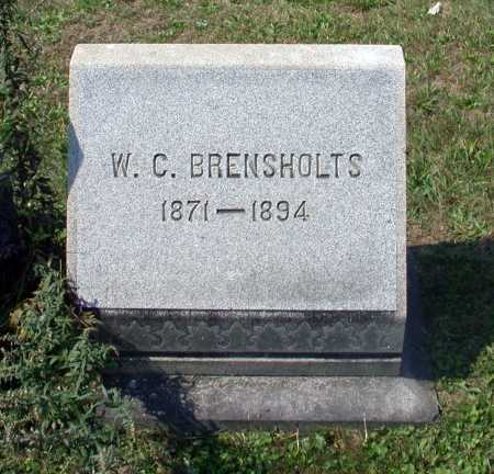 BRENSHOLTS, W. C. - Juniata County, Pennsylvania | W. C. BRENSHOLTS - Pennsylvania Gravestone Photos