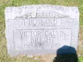 BRIGHT, VICTOR CALVIN - Juniata County, Pennsylvania | VICTOR CALVIN BRIGHT - Pennsylvania Gravestone Photos