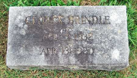 BRINDLE, GEORGE - Juniata County, Pennsylvania | GEORGE BRINDLE - Pennsylvania Gravestone Photos