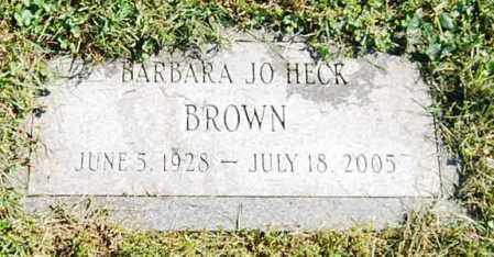 BROWN, BARBARA JO - Juniata County, Pennsylvania   BARBARA JO BROWN - Pennsylvania Gravestone Photos