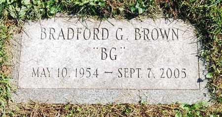 "BROWN, BRADFORD G. ""B.G."" - Juniata County, Pennsylvania   BRADFORD G. ""B.G."" BROWN - Pennsylvania Gravestone Photos"