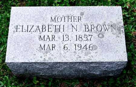 CODER BROWN, ELIZABETH NEVIN - Juniata County, Pennsylvania | ELIZABETH NEVIN CODER BROWN - Pennsylvania Gravestone Photos