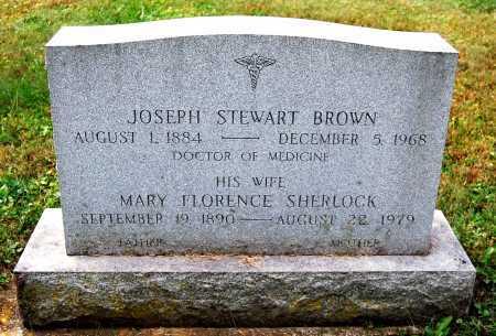 BROWN, MARY FLORENCE - Juniata County, Pennsylvania   MARY FLORENCE BROWN - Pennsylvania Gravestone Photos
