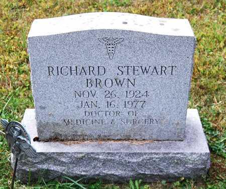 BROWN, RICHARD STEWART - Juniata County, Pennsylvania | RICHARD STEWART BROWN - Pennsylvania Gravestone Photos