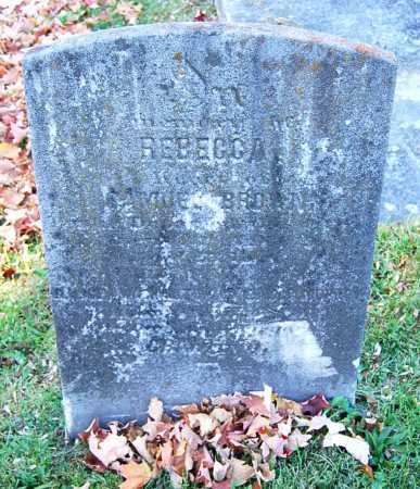 BROWN, REBECCA - Juniata County, Pennsylvania | REBECCA BROWN - Pennsylvania Gravestone Photos