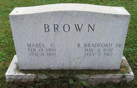 BROWN, MABEL C. - Juniata County, Pennsylvania | MABEL C. BROWN - Pennsylvania Gravestone Photos