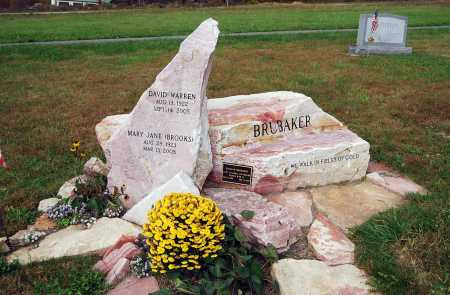 BROOKS BRUBAKER, MARY JANE - Juniata County, Pennsylvania   MARY JANE BROOKS BRUBAKER - Pennsylvania Gravestone Photos