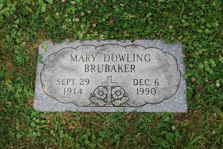 BRUBAKER, MARY E. - Juniata County, Pennsylvania | MARY E. BRUBAKER - Pennsylvania Gravestone Photos