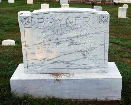 BRYNER, MAHALA ELIZABETH - Juniata County, Pennsylvania | MAHALA ELIZABETH BRYNER - Pennsylvania Gravestone Photos