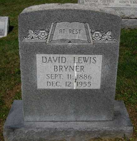 BRYNER, DAVID LEWIS - Juniata County, Pennsylvania | DAVID LEWIS BRYNER - Pennsylvania Gravestone Photos