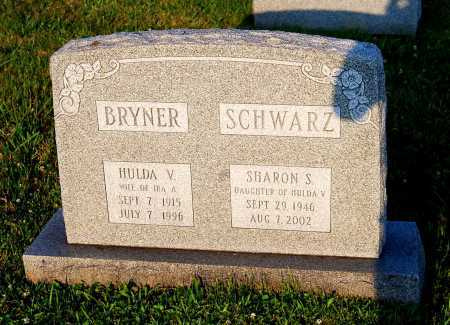 BRYNER, HULDA V. - Juniata County, Pennsylvania   HULDA V. BRYNER - Pennsylvania Gravestone Photos