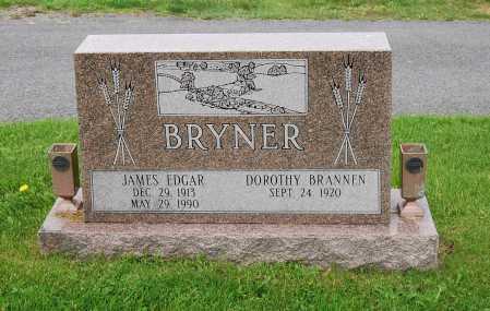 BRYNER, JAMES EDGAR - Juniata County, Pennsylvania   JAMES EDGAR BRYNER - Pennsylvania Gravestone Photos