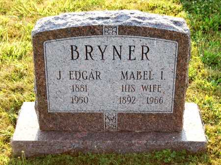 BRYNER, JAMES EDGAR - Juniata County, Pennsylvania | JAMES EDGAR BRYNER - Pennsylvania Gravestone Photos