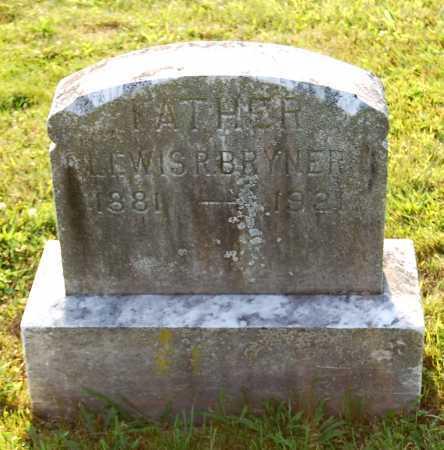 BRYNER, LEWIS RHODES - Juniata County, Pennsylvania | LEWIS RHODES BRYNER - Pennsylvania Gravestone Photos