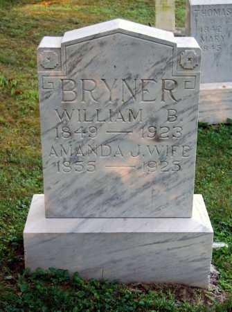 BRYNER, AMANDA JANE - Juniata County, Pennsylvania | AMANDA JANE BRYNER - Pennsylvania Gravestone Photos