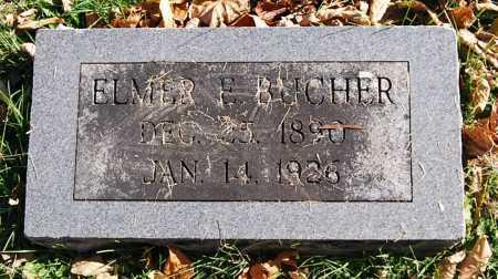 BUCHER, ELMER ELLSWORTH - Juniata County, Pennsylvania | ELMER ELLSWORTH BUCHER - Pennsylvania Gravestone Photos