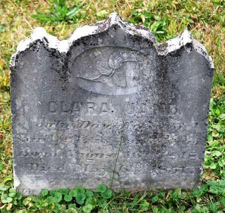 BUCK, CLARA JANE - Juniata County, Pennsylvania   CLARA JANE BUCK - Pennsylvania Gravestone Photos