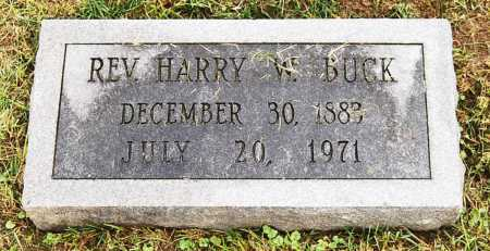 BUCK, HARRY W. - Juniata County, Pennsylvania | HARRY W. BUCK - Pennsylvania Gravestone Photos