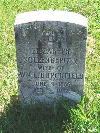 BURCHFIELD, BARBARA ELIZABETH - Juniata County, Pennsylvania | BARBARA ELIZABETH BURCHFIELD - Pennsylvania Gravestone Photos