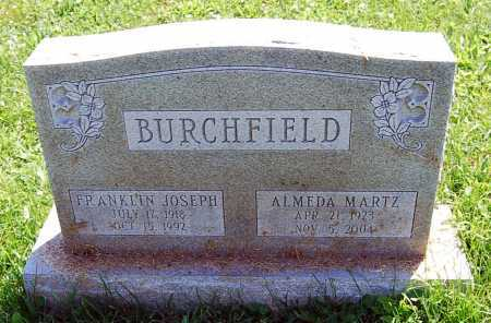 BURCHFIELD, ALMEDA - Juniata County, Pennsylvania | ALMEDA BURCHFIELD - Pennsylvania Gravestone Photos