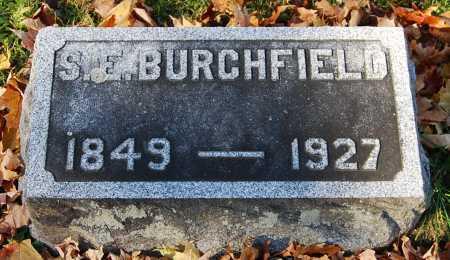 BURCHFIELD, SARAH ELIZABETH - Juniata County, Pennsylvania | SARAH ELIZABETH BURCHFIELD - Pennsylvania Gravestone Photos