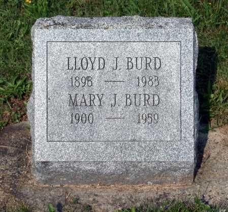 BURD, LLOYD J. - Juniata County, Pennsylvania | LLOYD J. BURD - Pennsylvania Gravestone Photos
